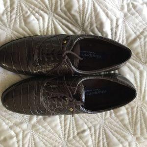 Easyspirit anti-gravity brown loafers size 8.5